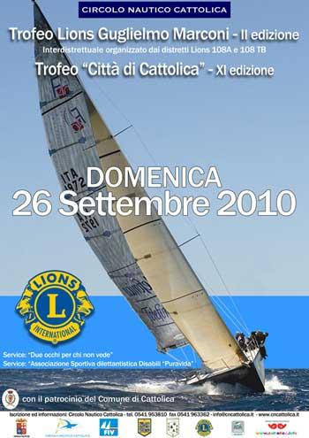 Regata velica Trofeo Lions Guglielmo Marconi Cattolica